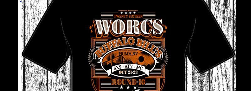 WORCS Round 10 2016 T-shirt