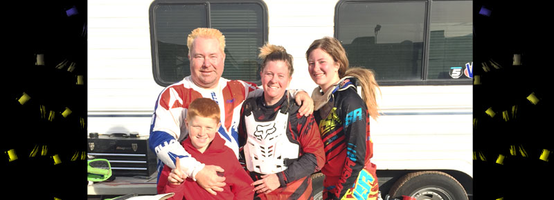 Heald Family at WORCS!