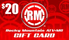 Rocky Mountain 20 Gift Card
